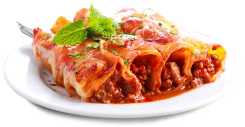 Cannelloni, Catering